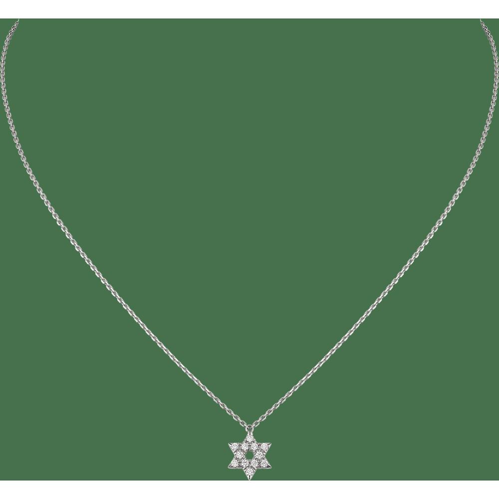 象征符号项链 18K白金