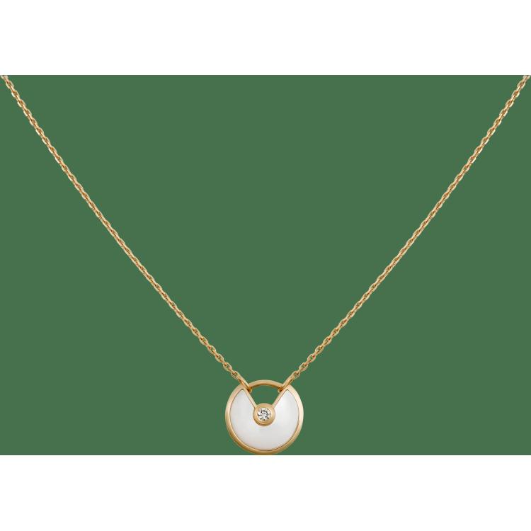 Amulette de Cartier项链,超小号款 18K黄金