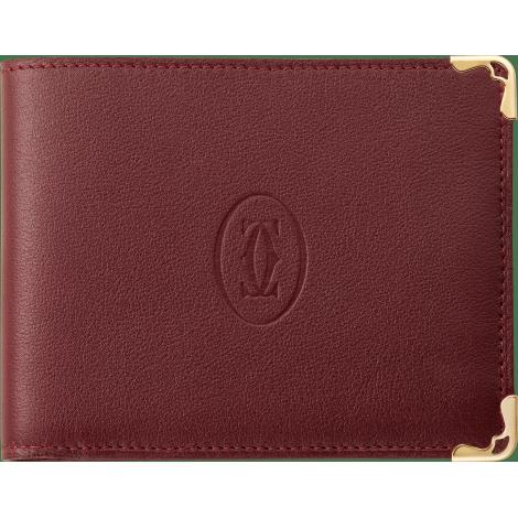 Must de Cartier 6信用卡皮夹