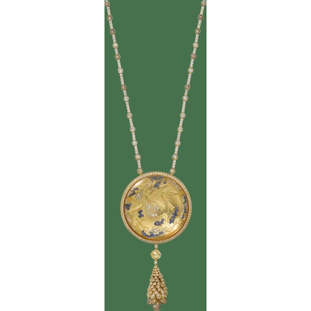 高级珠宝项链 18K黄金