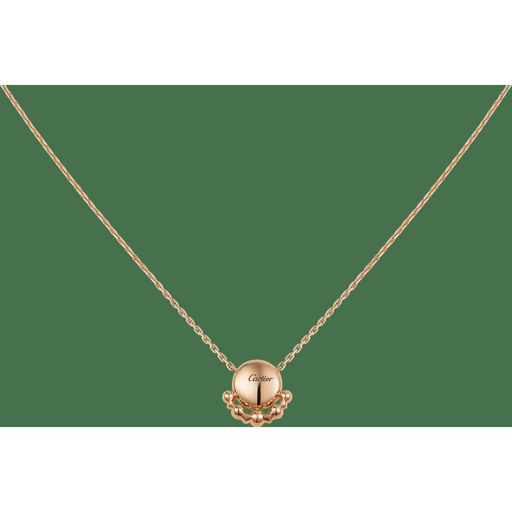 Etincelle de Cartier项链 18K玫瑰金