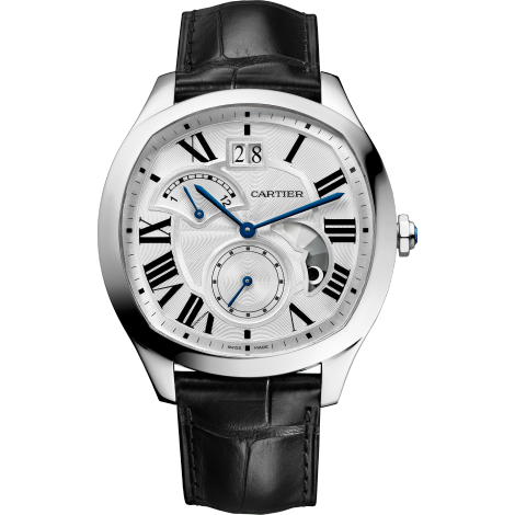 Drive de Cartier大日历逆跳指示双时区昼夜显示腕表
