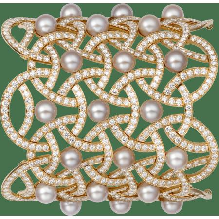 Paris Nouvelle Vague高级珠宝手镯 18K玫瑰金