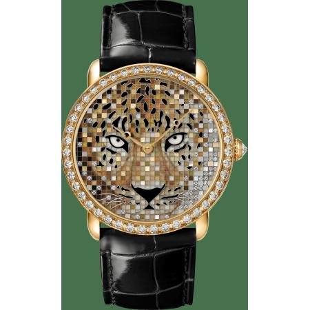动物造型腕表 36毫米 18K黄金 自动上链