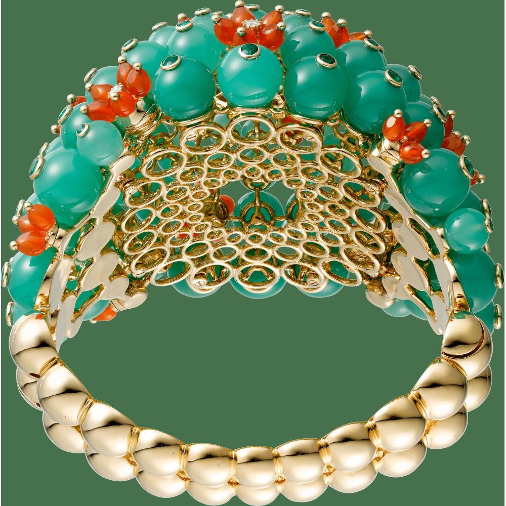 Cactus de Cartier手镯 18K黄金