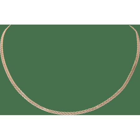 链条项链 18K白金,18K黄金,18K玫瑰金