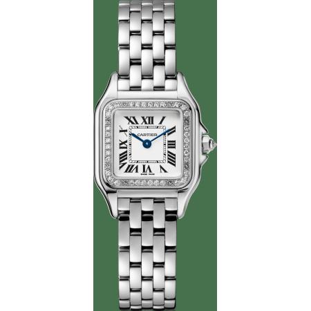 Panthère de Cartier腕表 小号 18K镀铑白金 石英