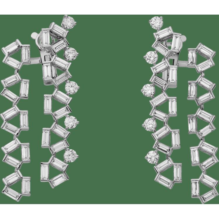 Reflection de Cartier耳环 18K白金