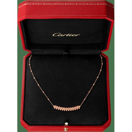 Clash de Cartier项链,小号款 18K玫瑰金