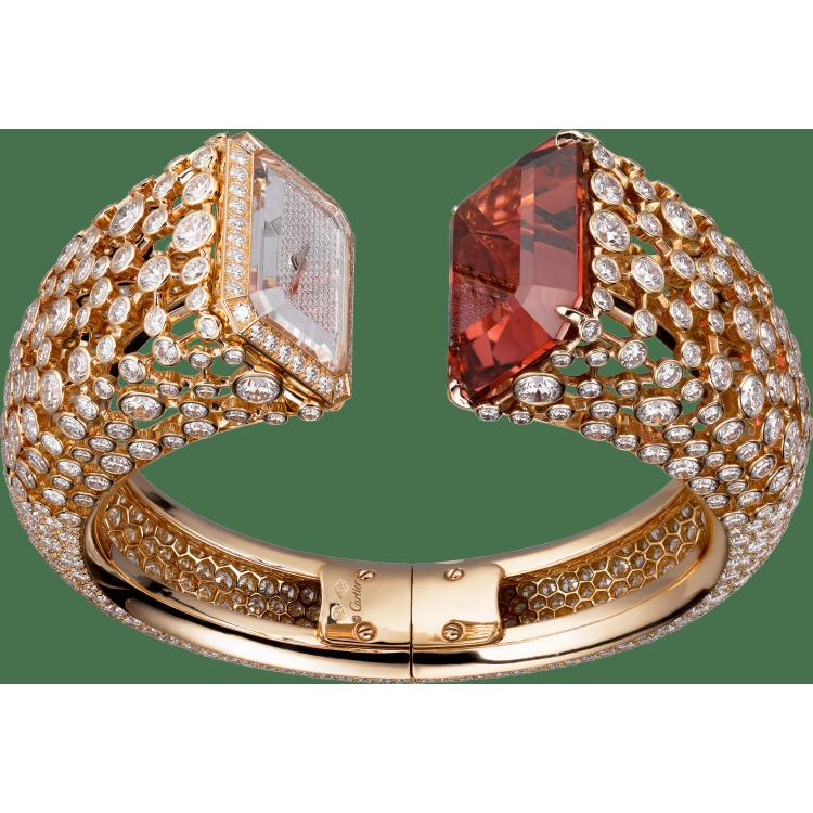 高级珠宝腕表  18K玫瑰金