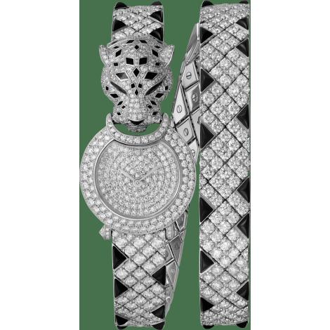 Panthère猎豹装饰珠宝腕表