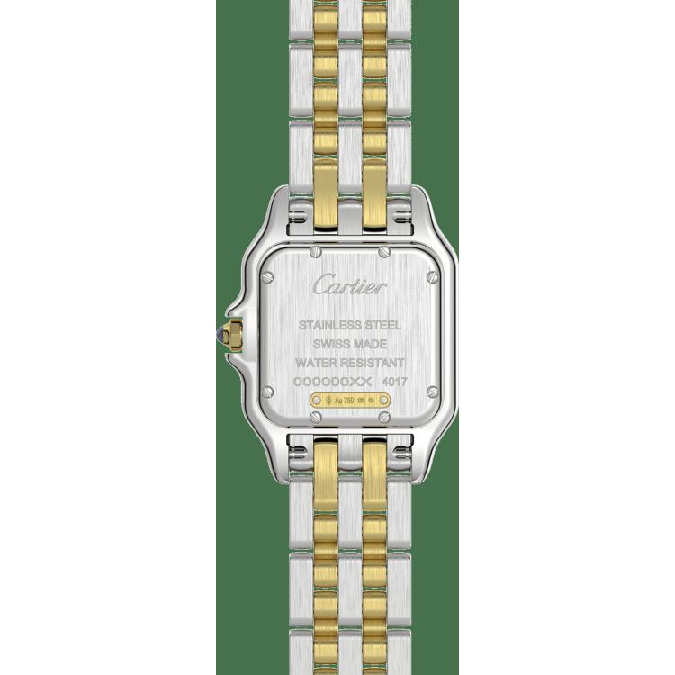 Panthère de Cartier腕表 中号 黄K金与精钢 石英