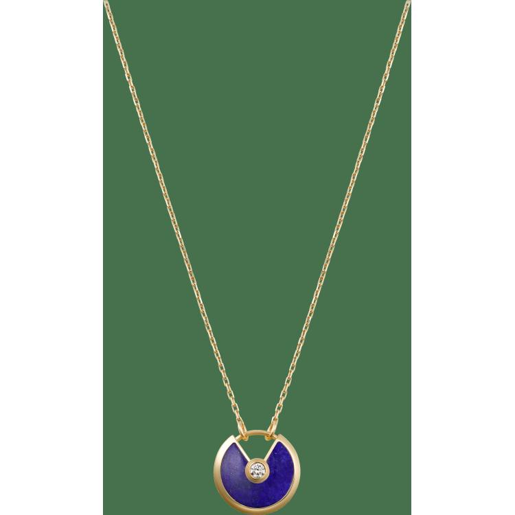 Amulette de Cartier项链,小号款 18K黄金
