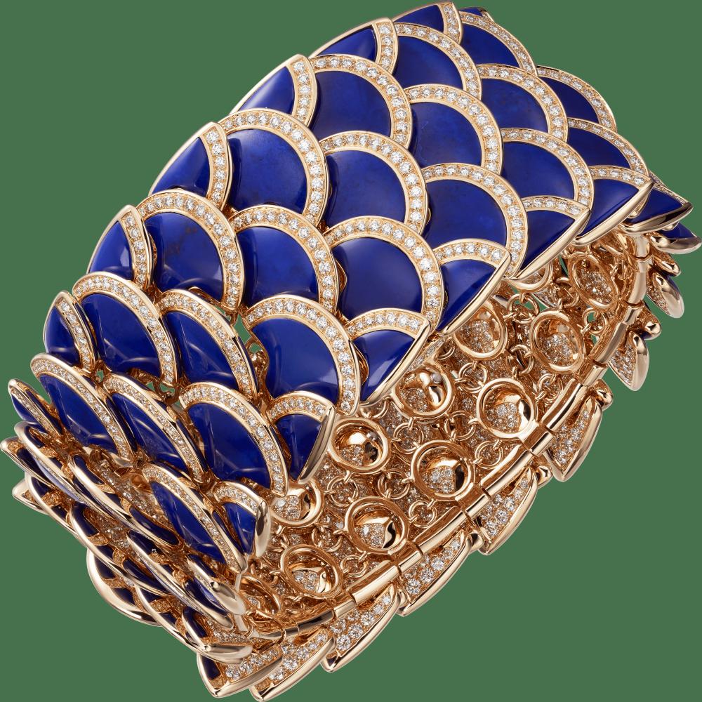 高级珠宝手镯 18K玫瑰金
