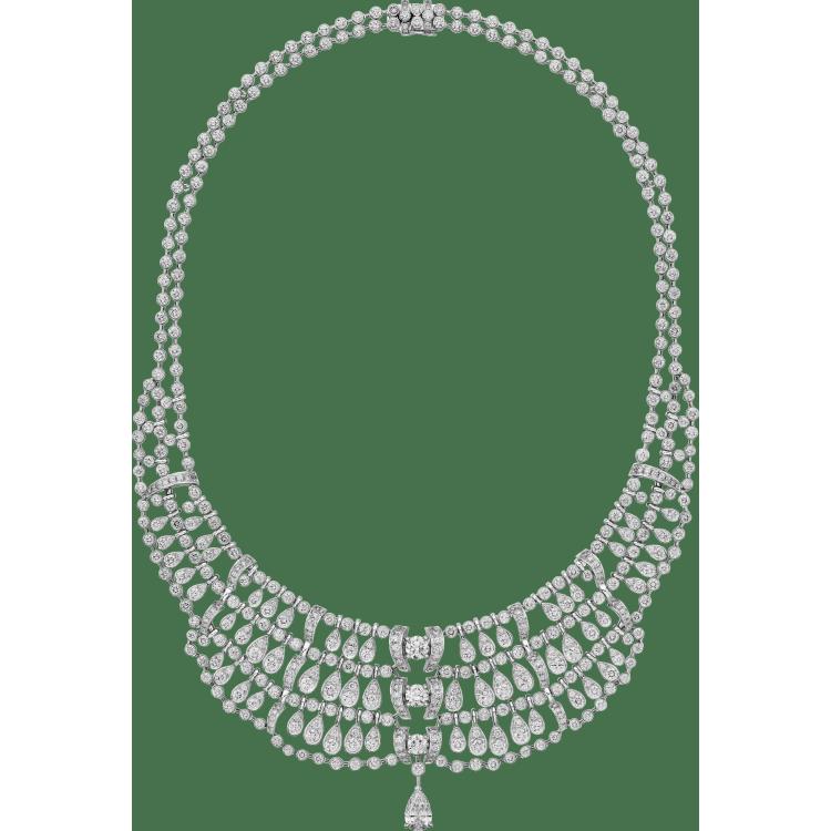 Pluie de Cartier项链 18K白金