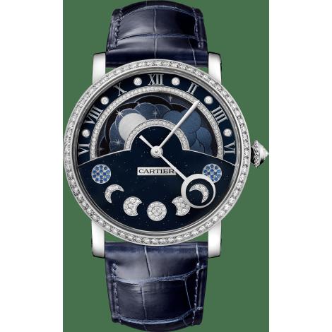 Rotonde de Cartier昼夜显示月相腕表