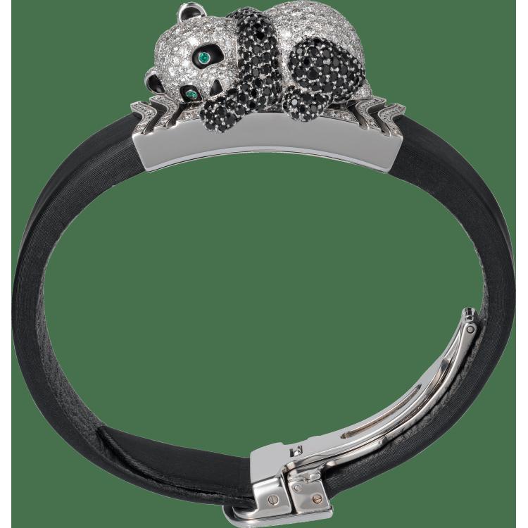 高级珠宝其他造型腕表 小号 18K镀铑白金 石英
