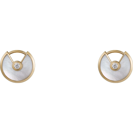 Amulette de Cartier耳环,超小号款 18K黄金