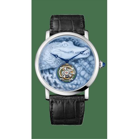 Cartier d'Art系列Rotonde de Cartier腕表 42毫米 18K白金 手动上链