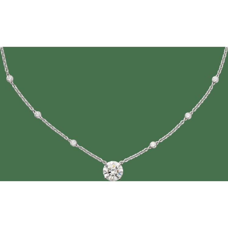 高级珠宝1895项链 18K白金
