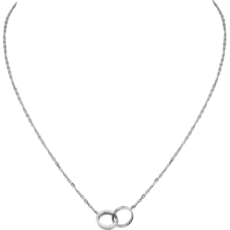 LOVE项链,镶嵌钻石