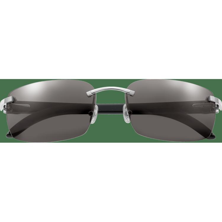C字装饰太阳眼镜