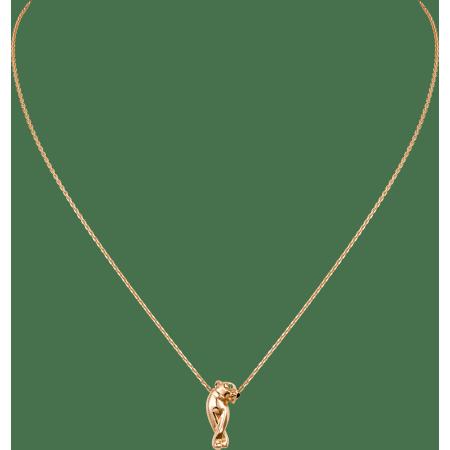 Panthère de Cartier卡地亚猎豹项链 18K玫瑰金