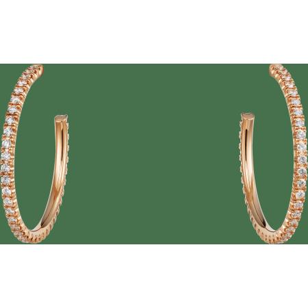 Etincelle de Cartier耳环 18K玫瑰金