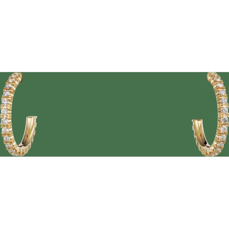 Etincelle de Cartier耳环 18K黄金