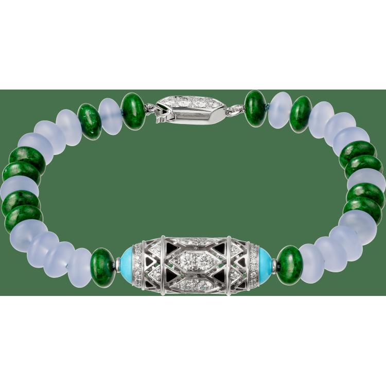 高级珠宝手镯 18K白金
