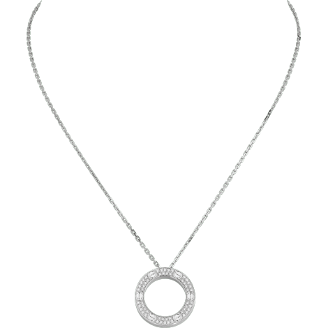 LOVE项链,铺镶钻石