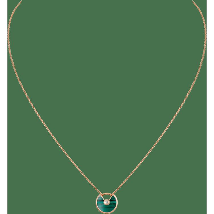 Amulette de Cartier项链,超小号款 18K玫瑰金