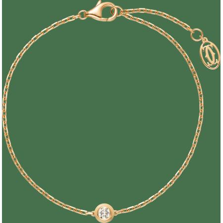 Diamants Légers 手链 18K黄金