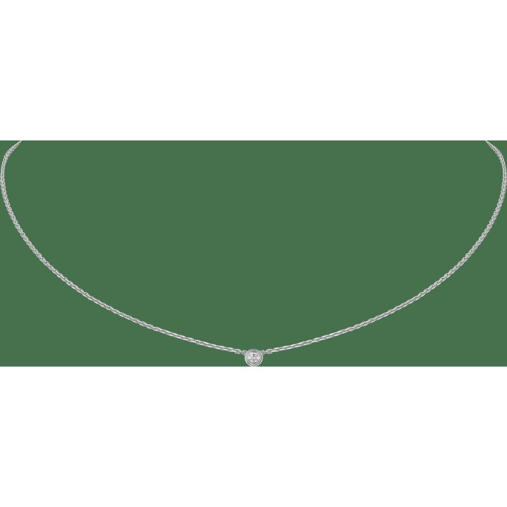 Diamants Légers 项链,超小号款 18K白金