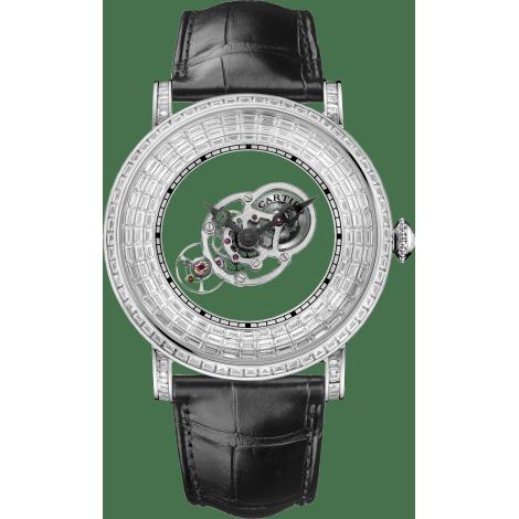 Rotonde Astromystérieux神秘天体腕表,镶嵌梯形切割宝石