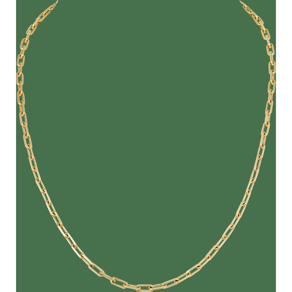 Santos de Cartier项链 18K黄金