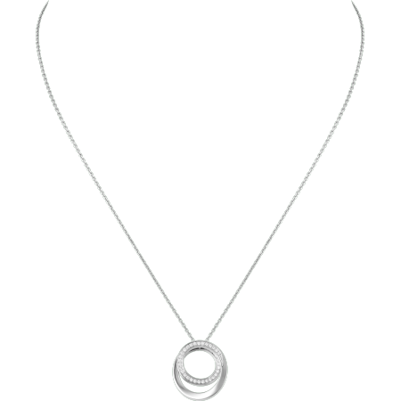 Etincelle de Cartier项链 18K白金