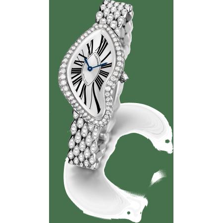 Crash腕表 - 18K镀铑白金 手动上链