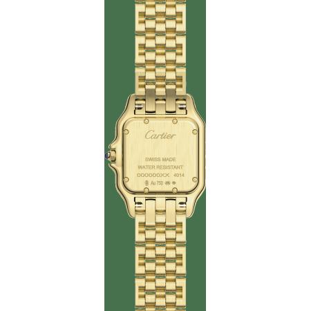 Panthère de Cartier腕表 中号 18K黄金 石英