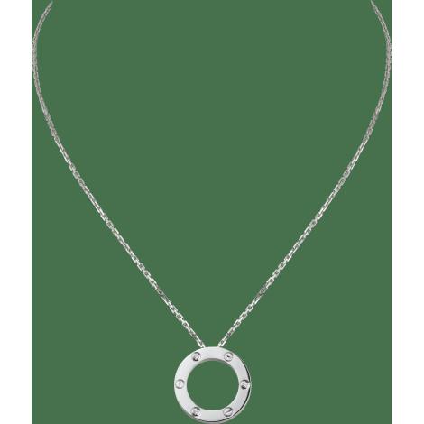LOVE项链,镶嵌3颗钻石