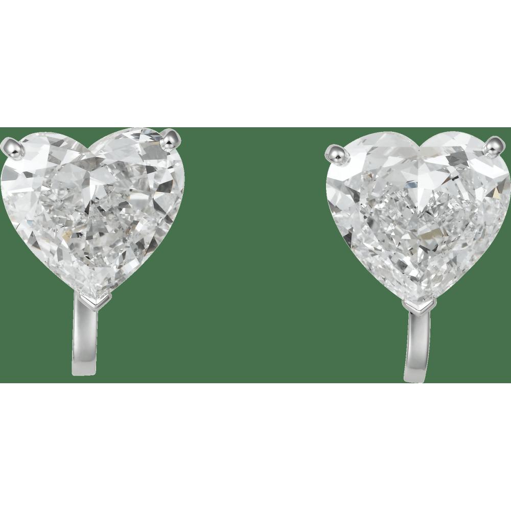 高级珠宝1895耳环 铂金