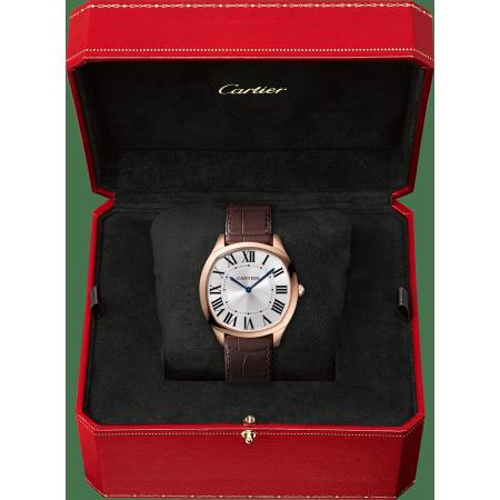 Drive de Cartier超薄腕表 38毫米 18K玫瑰金 手动上链