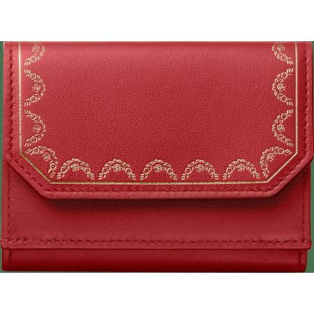 Guirlande de Cartier三折式皮夹