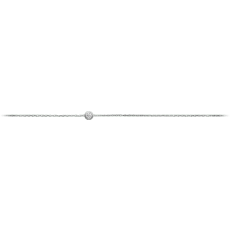 Diamants Légers 手链,超小号款 18K白金
