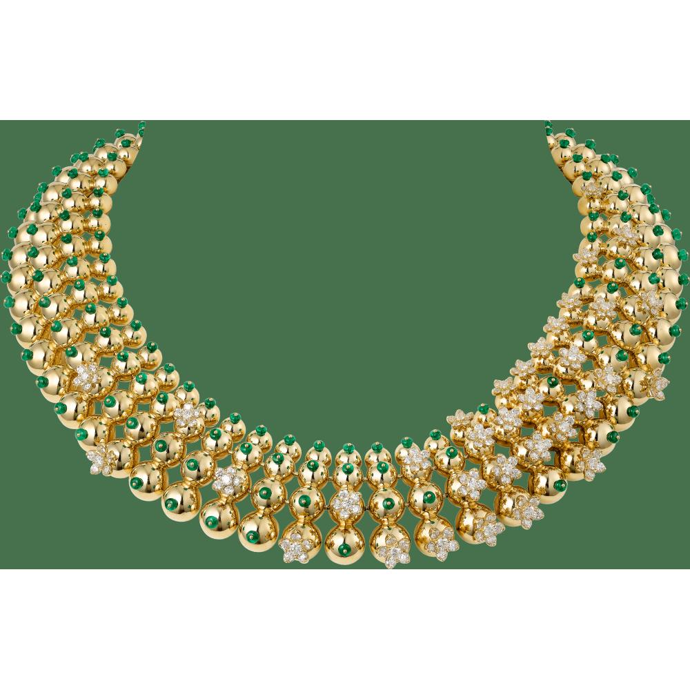 Cactus de Cartier项链 18K黄金