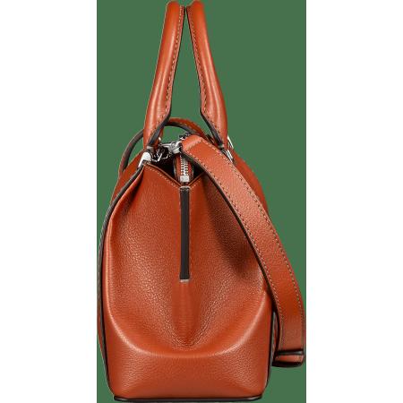 C de Cartier迷你手袋 橙色 Taurillon皮革