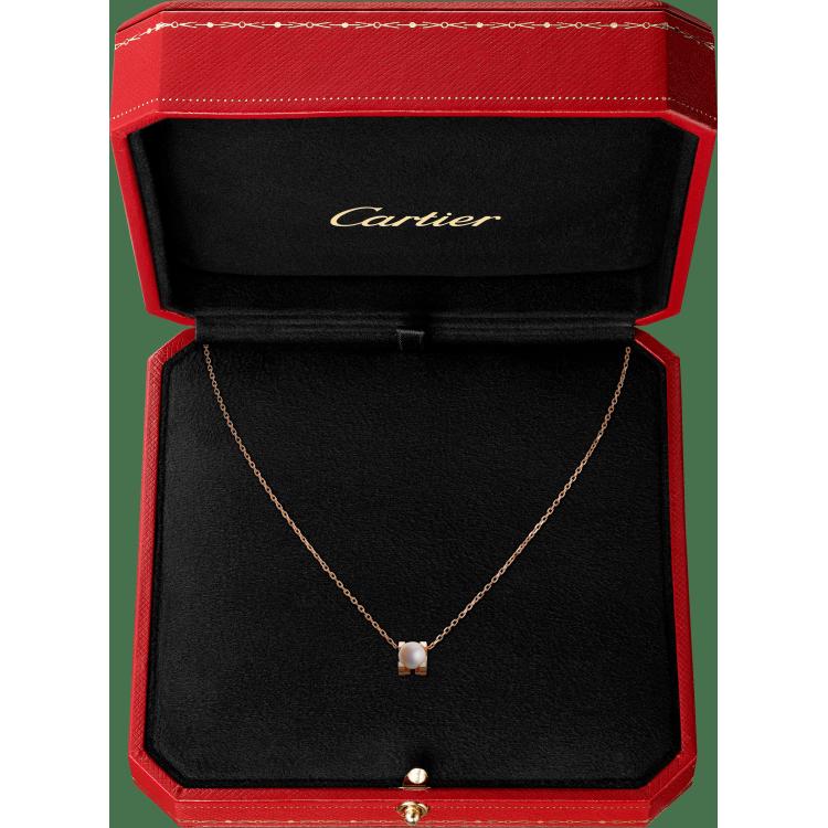 C de Cartier项链 18K玫瑰金