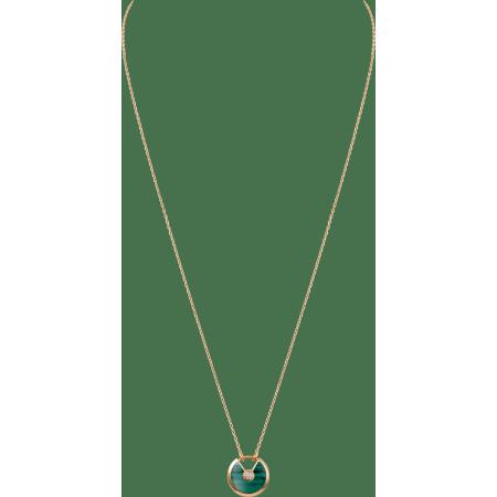 Amulette de Cartier项链,小号款 18K玫瑰金