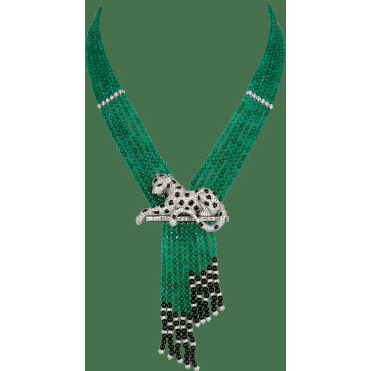 Panthère de Cartier高级珠宝项链 铂金