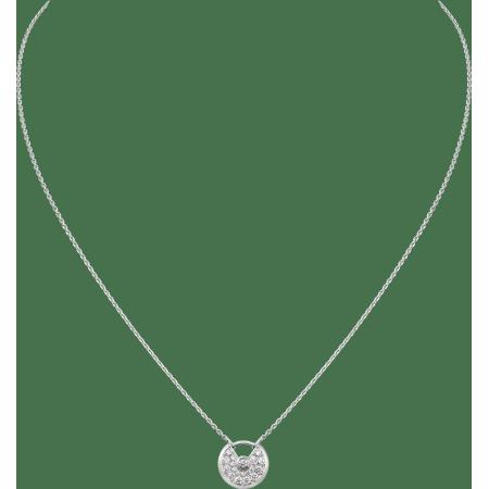 Amulette de Cartier项链,超小号款 18K白金,其他